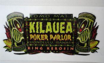 King Kerosin Sticker / Kilauea Poker