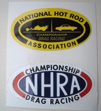 Race Sticker / NHRA Set.1