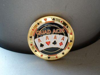 Poker Card Guard - Quad Aces