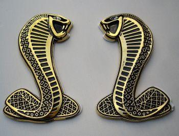 Seiten Emblem - Cobra / bronce