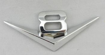Emblem:  V8 / Chrome