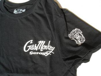 Gas Monkey Garage T-Shirt - White 31 Rat Rod