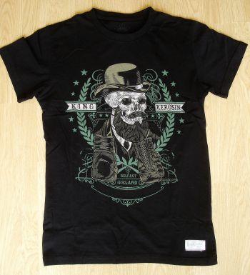 Vintage T-Shirt - Skull Gent / black