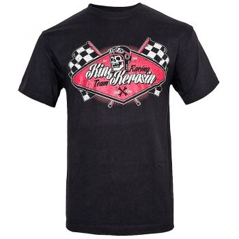King Kerosin Regular T-Shirt / Racing Team - black