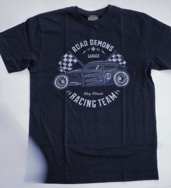 King Kerosin Regular T-Shirt / Road Demons - black