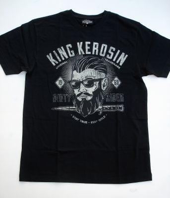 King Kerosin Regular T-Shirt / Dirty Rider - black