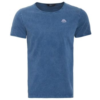 Vintage T-Shirt von King Kerosin - Basic Blau