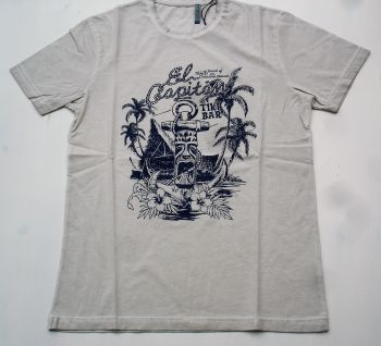 Way of Glory T-Shirt - Tiki Bar / Light Grey