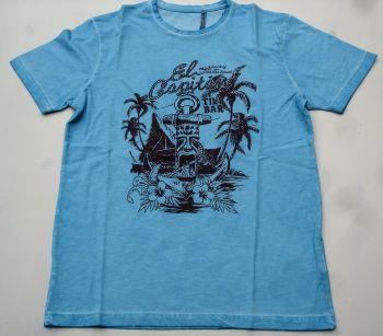Way of Glory T-Shirt - Tiki Bar / Turquoise