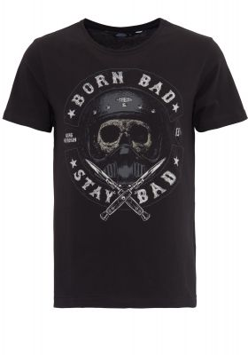 King Kerosin Regular T-Shirt / Born Bad - Stay Bad