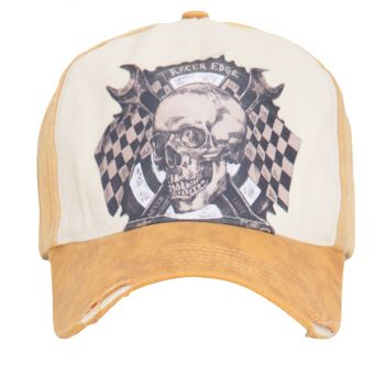 Vintage Trucker Cap - King Kerosin - Race Edge / Vintage yellow