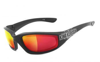 King Kerosin Biker & Motorradbrillen - KK140-arv- Laser Red