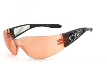 King Kerosin Biker & Motorradbrillen - KK205-1- Orange
