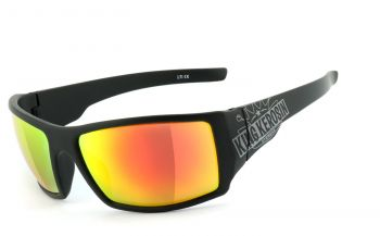 King Kerosin Biker & Motorradbrillen - KK220arv - Laser Red