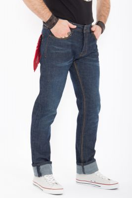 King Kerosin Jeans - Robin / Dark Blue