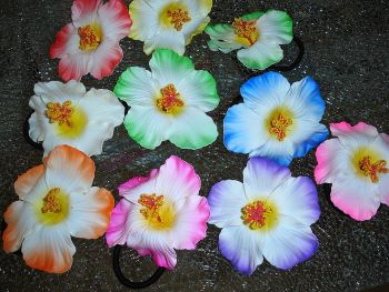 Scrunchy Flower - mixed colors