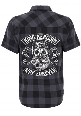 Karo Hemd Limited Edition - Ride Forever