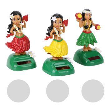 Dashboard Dancing Hula Girl / green / red / yellow