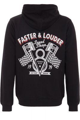 King Kerosin Hoodie Jackets - Faster & Louder