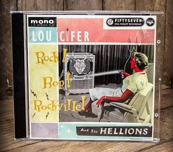 CD - Lou Cifer and the Hellions / Rock! Bop! Rockville!