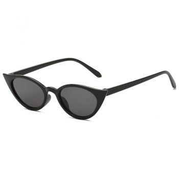Cateyes Sonnenbrille - Schwarz / schwarz