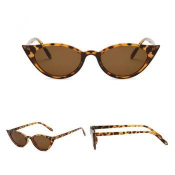 Cateyes Sonnenbrille - Leopard / braun
