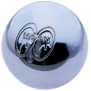 Shiftknob - Chrome MOON Logo Ball