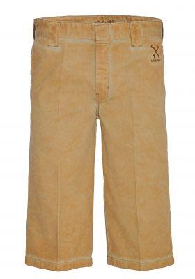 Workwear Kurze Hose - Shorts Oil washed Terra