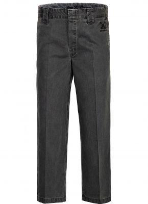 Workwear Hose - Oil washed Grey