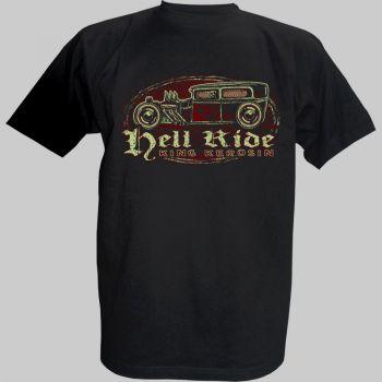 King Kerosin T-Shirt - Hot Rod to Hell