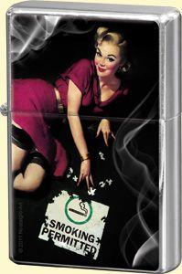 Feuerzeug - Pinup Smoking Permitted