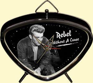 Vintage Blechwecker - James Dean Smoke