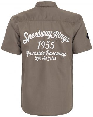 Worker Hemd *Limited Edition* von King Kerosin - Speedway / grau