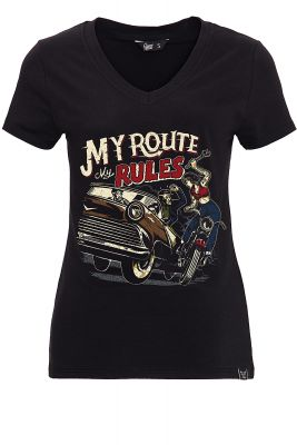 T-Shirt von Queen Kerosin - My Route, my Rules