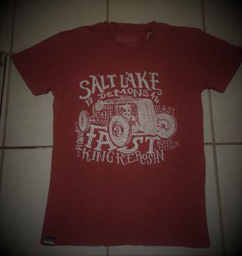 Batik Vintage Shirt - Salt Lake Demons / Rot