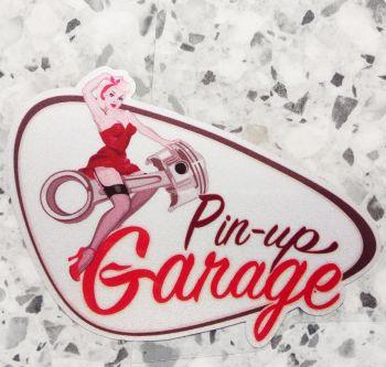 Pin up Sticker - Pin up Garage