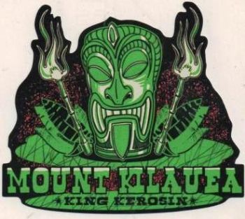 King Kerosin Sticker Mount Kilauea /klein