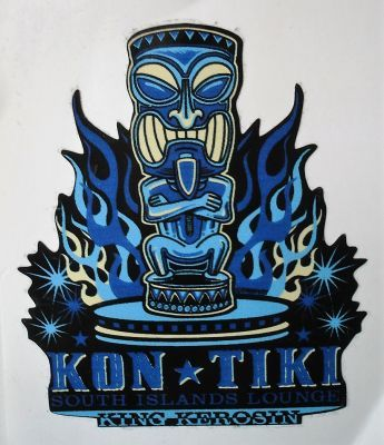 King Kerosin Sticker Kon Tiki /klein
