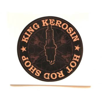 King Kerosin Sticker Hot Rod Shop /klein