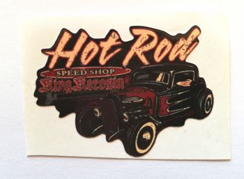 King Kerosin Sticker Speed Shop Hot rod /klein