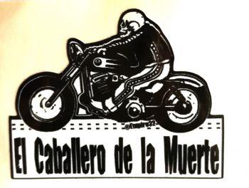 King Kerosin Sticker El Caballero de la Muerte /klein