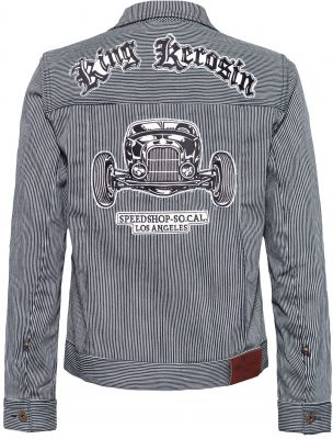 Jeans Jacke - Speed Shop So-CaL. / stripped