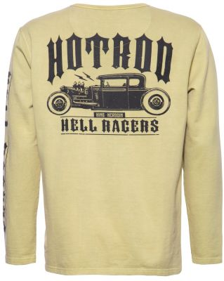 Sweater von King Kerosin - Hell Racers / curry