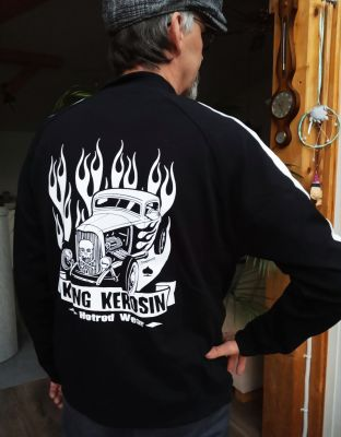 King Kerosin Sportjacke - Hotrod Wear
