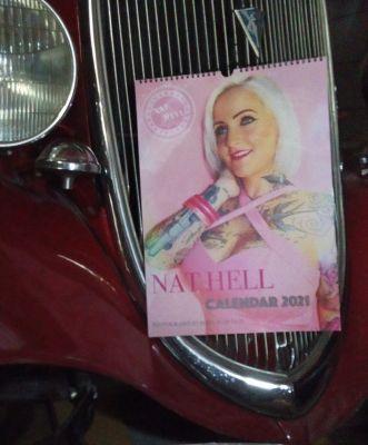 Kalender 2021 - Tattoo Pinup Model Nat Hell
