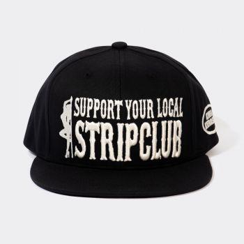 Snapback / Flat Cap von King Kerosin - Support your Local Stripclub