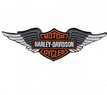 Patch -  Harley-Davidson Motor Cycles / Flügel