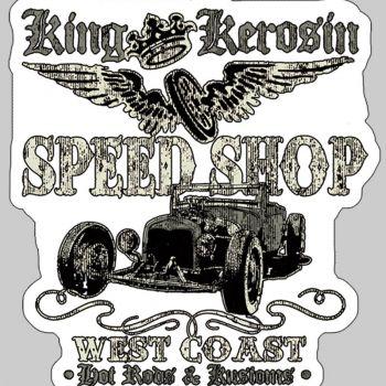 King Kerosin Sticker ST-MSS1