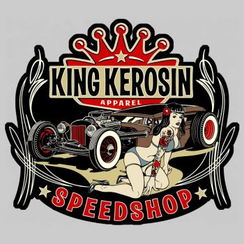 King Kerosin Sticker st_mks