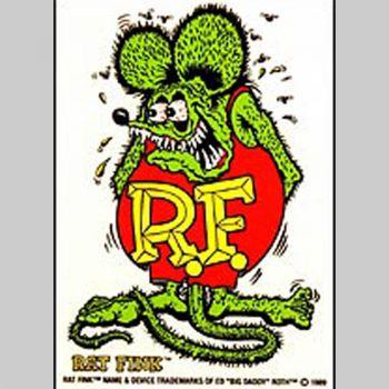 Rat Fink Decal RF-02